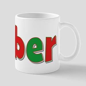 Amber Christmas Mug