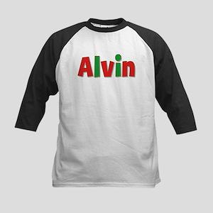 Alvin Christmas Kids Baseball Jersey