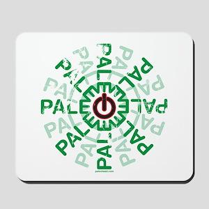 Paleo Power Wheel Mousepad