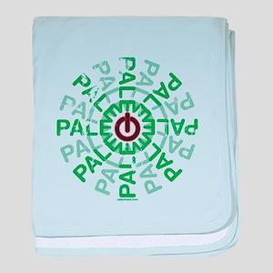 Paleo Power Wheel baby blanket