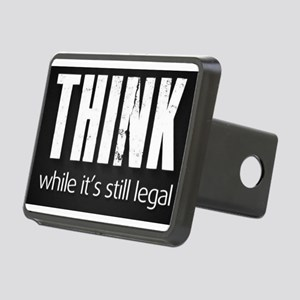 Think while it's still legal Rectangular Hitch Cov
