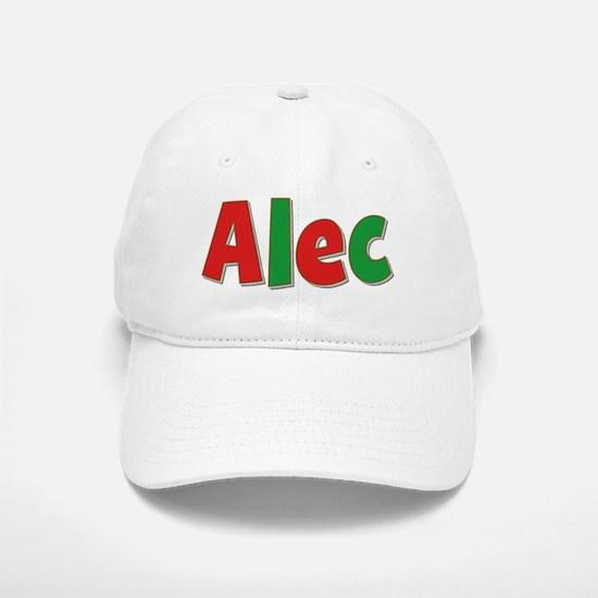 Alec Christmas Baseball Baseball Cap