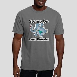 Elephant Stomp On Panic  Mens Comfort Colors Shirt