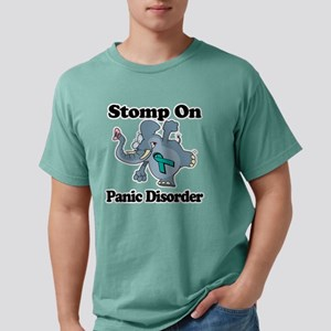 Elephant Stomp On Panic  Mens Comfort Colors Shirt