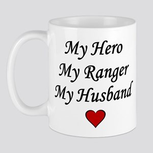 My Hero My Ranger My Husband - Army Mug