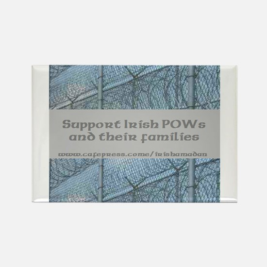 Support Irish POWs families Rectangle Magnet (10 p