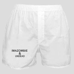 IMAZOMBIE UNDEAD Boxer Shorts