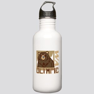 Olympic Grumpy Grizzly Stainless Water Bottle 1.0L