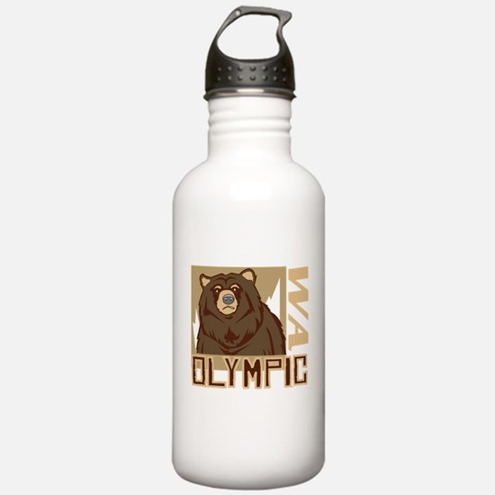 Olympic Grumpy Grizzly Water Bottle