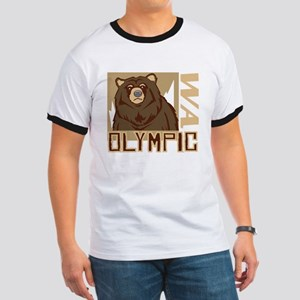 Olympic Grumpy Grizzly Ringer T