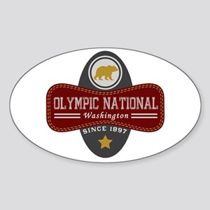 Olympic Natural Marquis Sticker (Oval)
