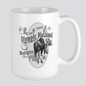 Olympic National Vintage Moose Large Mug