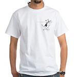 2-sided White Tango T-Shirt