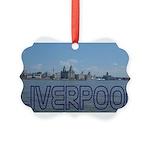 Scenic Liverpool (Blue) Picture Ornament