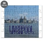 Scenic Liverpool (Blue) Puzzle