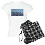 Scenic Liverpool (Blue) Women's Light Pajamas