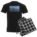 Scenic Liverpool (Blue) Men's Dark Pajamas