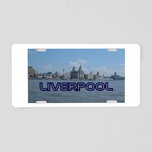 Scenic Liverpool (Blue) Aluminum License Plate