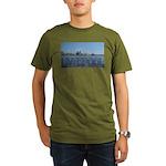 Scenic Liverpool (Blue) Organic Men's T-Shirt (dar
