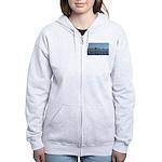 Scenic Liverpool (Blue) Women's Zip Hoodie
