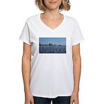 Scenic Liverpool (Blue) Women's V-Neck T-Shirt