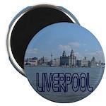 Scenic Liverpool (Blue) Magnet