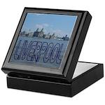 Scenic Liverpool (Blue) Keepsake Box