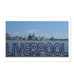 Scenic Liverpool (Blue) Postcards (Package of 8)