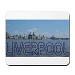 Scenic Liverpool (Blue) Mousepad