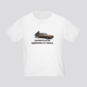 Sasquatch Keeping It Real Toddler T-Shirt