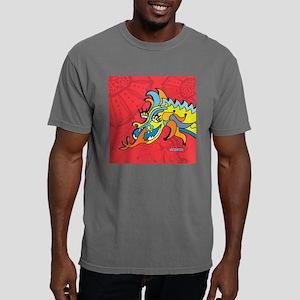 red_dragon_tile Mens Comfort Colors Shirt