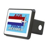 Air force retired Rectangle