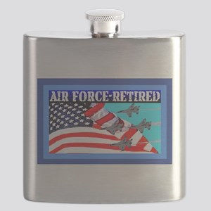 Air Force-Retired-7lg Flask