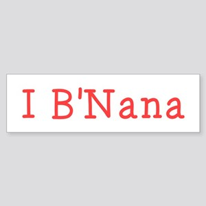 I BNana Sticker (Bumper)