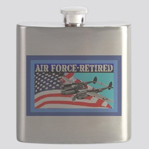 Air Force-Retired-8-lg Flask