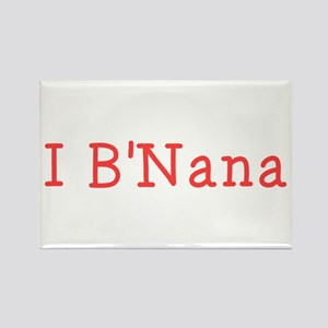 I BNana Rectangle Magnet