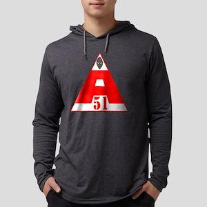 area 51 4 copy Mens Hooded Shirt