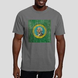 Vintage Washington Flag Mens Comfort Colors Shirt