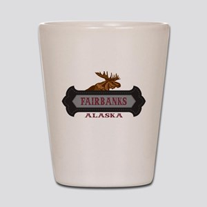 Fairbanks Fleur de Moose Shot Glass