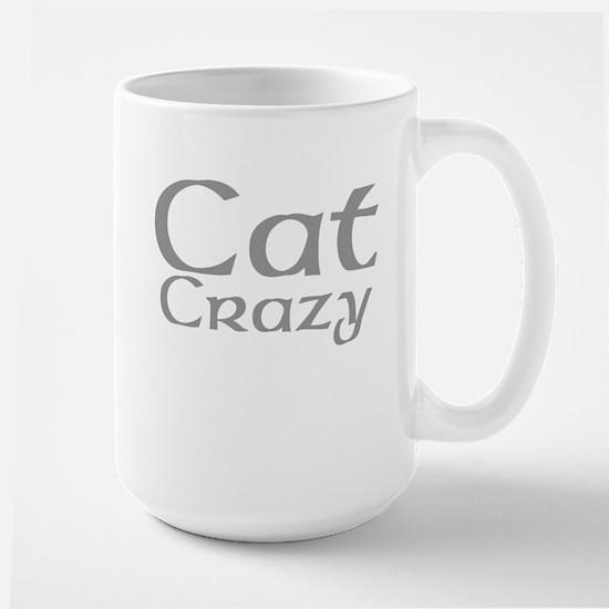 Cat Crazy Large Mug