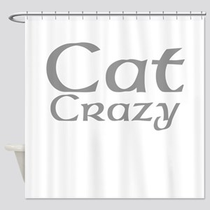 Cat Crazy Shower Curtain