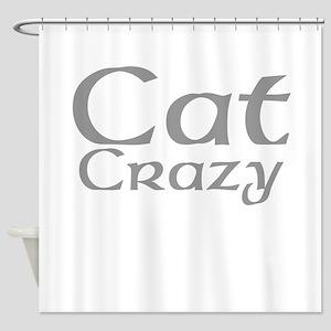 Cat Crazy Shower Curtain