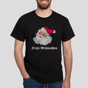 German Santa Black T-Shirt