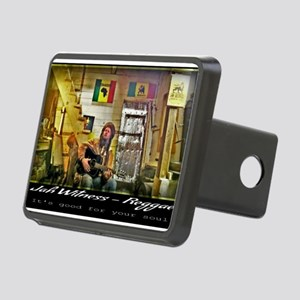 Jah Witness Reggae Rectangular Hitch Cover