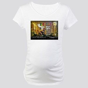 Jah Witness Reggae Maternity T-Shirt