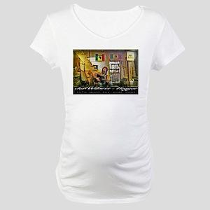 Jah Witness Reggae Maternity T-Shirt