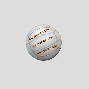 Beach Volleyball Mini Button