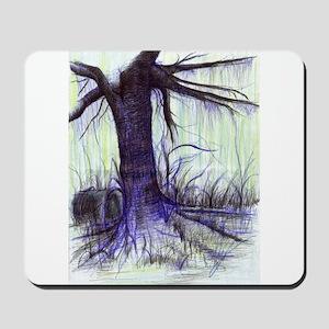 Swamp Tree Mousepad