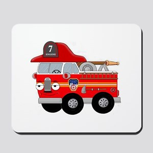 Coops Little Fire Engine Seven FDNY Mousepad