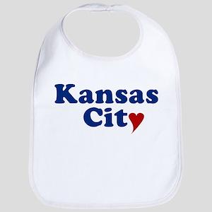 Kansas City with Heart Bib